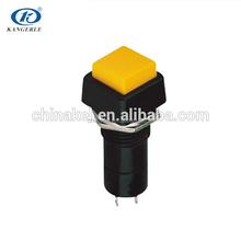 emergency push button switch 12v led push button switch LED ring illuminated latching push button