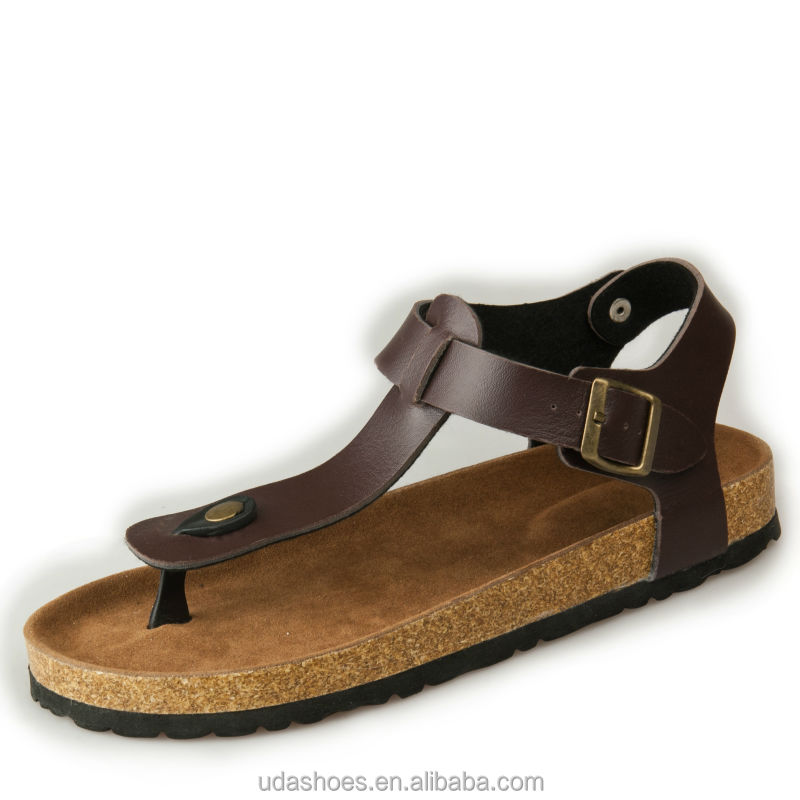 2018 Vento <strong>sandal</strong> new cork footbed toepost <strong>sandals</strong> fashion design small order is available