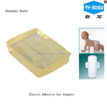 Construction HM PSA Hotmelt Glue Adhesive apply for baby Diapers