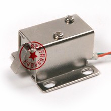 Electric Solenoid Bolt Lock for Small Cabinet