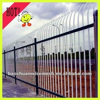 Nice And Practical Steel Gate Fences