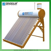 Deno 500L Vacuum Tube Water Solar Heater With Automatical Water Loading Small Tank