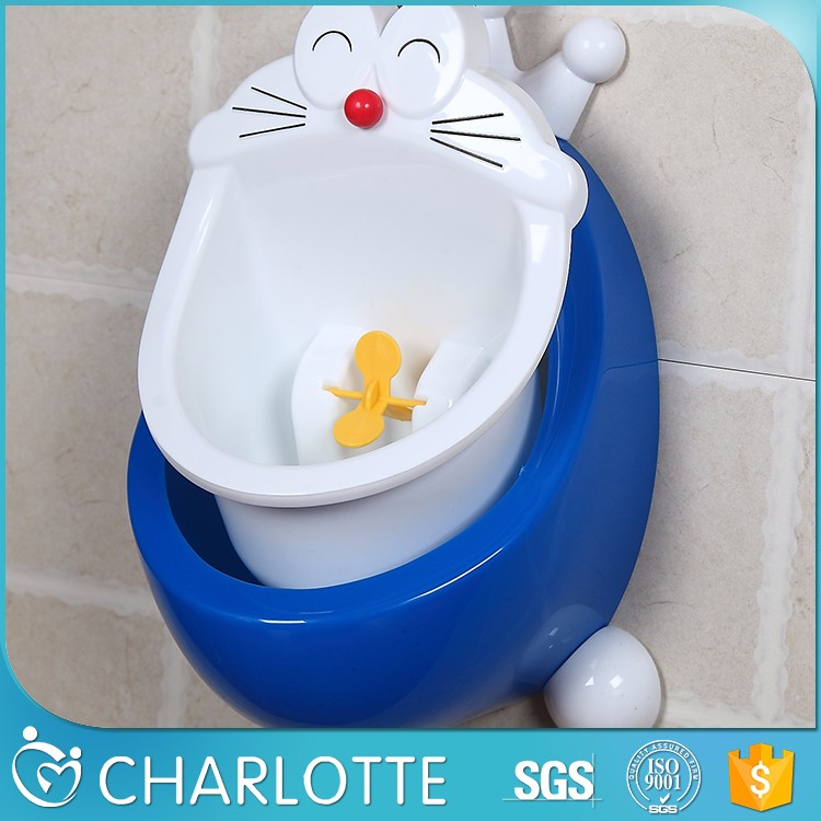 Boys Potty Training Urinal with Whirling Target/Children Potty Toilet Training Kid Urinal for Boy Pee Trainer