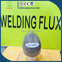 Low price multi-pass welding flux model SJ101 China factory