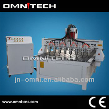 Chinese Jinan quality cnc router 8 spindle