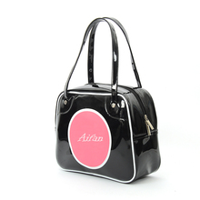Promotional Custom Waterproof Shiny PVC Tote Vinyl Shopping Bag