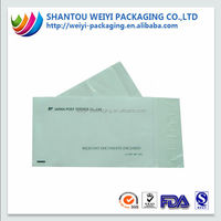 Reusable paper packing list envelope size different