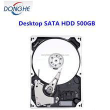 Ex-factory price 500GB imternal refurbished desktop hard disk with high quality 7200rmp16mbsate 3 hard drive