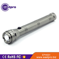 EASTPRO EPH031 aluminum 250 lumen 3 C battery Q5 led heavy duty torch light