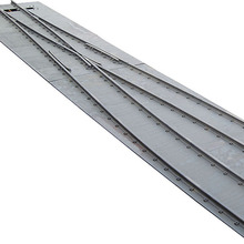 Best Selling stainless steel rail gauge tie rod used for railway turnout