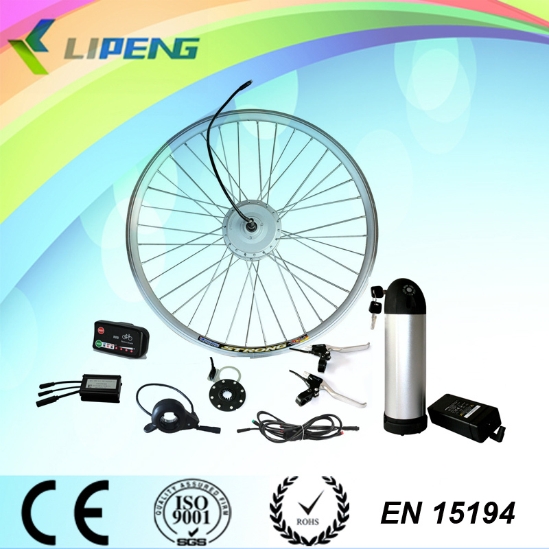 Lipeng brand! 36V 250w front hub brushless Disc brake motor/Electric bike conversion kit with CE ROSH approved like 8fun