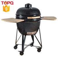 TOPQ Industrial Rotary Charcoal Cyprus BBQ Grill