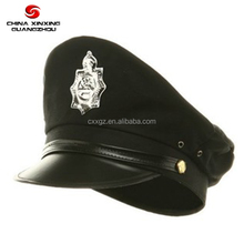 Cheap military uniform police officer peak cap
