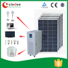 Home solar generator 220v 3000w with full solar components for home emergency power use