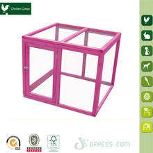 Easy Assemble Pink Run for Laying Hens