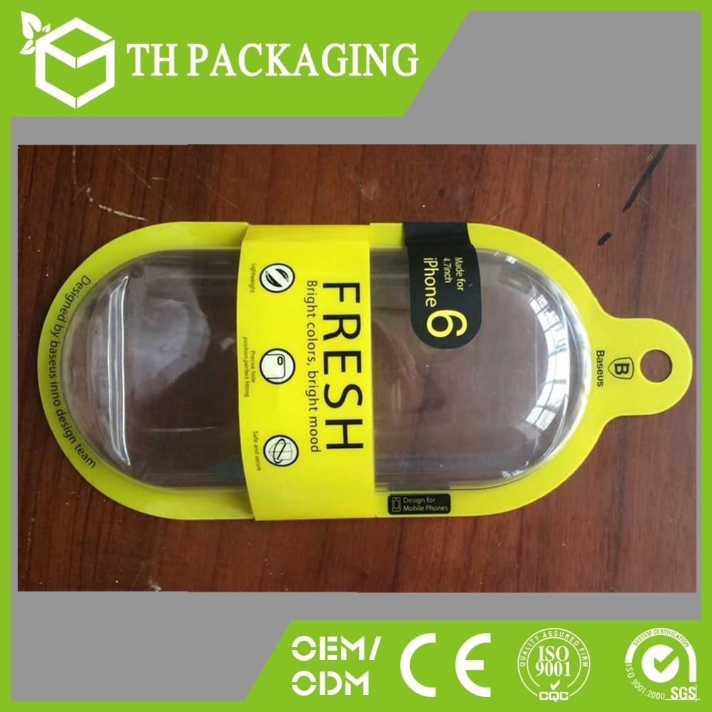 IPHONE& IPAD cases pvc box,pvc box for product packaging,clear pvc box popular in USA