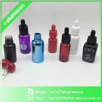 10ml 15ml 20ml 30ml 50ml 100ml Glass bottle with with childproof &tamperproof cap e liquid glass dropper bottle