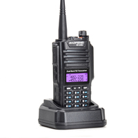 A58 Amateur Radio 136-174/ 400-520MHZ Dual Band Dustproof Waterproof IP57 Ham Two Way Radio Walkie Talkie