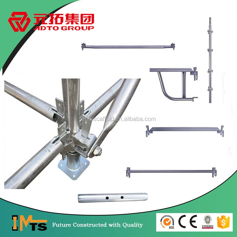 AS1577 Australia Galvanized kwik-stage scaffolding parts for construction safety