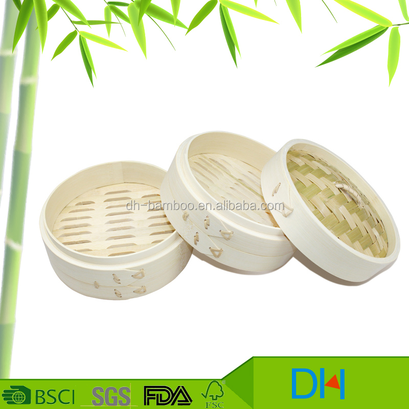 Wholesale Chinese Food Steamer Set And Bamboo Steamer Basket Stainless Steel Rice Steamer Cover Set For Cooking