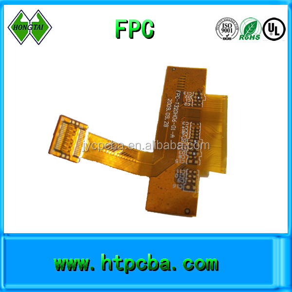 flexible printed circuit double side 2 layers fpc board design