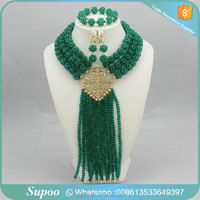 Great selling beads necklace crystal jewelry set