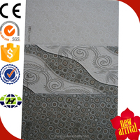 new arrival digital 300x450mm embossed faux leather 3d wall tiles