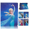 Cartoon Frozen Printing Leather Case Stand Case for iPad 2/3/4, for iPad 4 Case