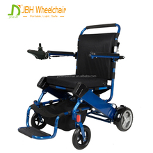 New design aluminum lightweight folding Battery power electric wheelchair