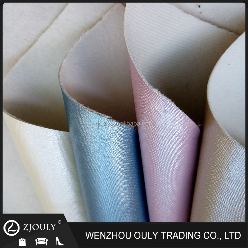 OEM ODM accepted pu leather uesd for sofa beds and car seat cover furniture making material sofa pu leather