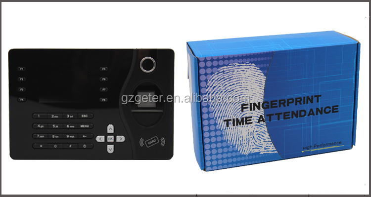 Biometric Fingerprint & Card TFT Color Screen Time Attendance A-C081