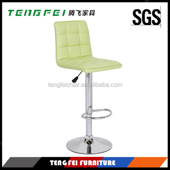 Certificated bar furniture, Certificated SGS gas lift,385mm chroming base,360 degree swivel!