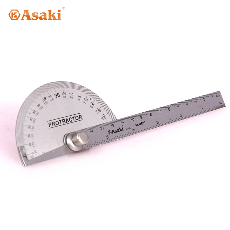 AK-2587 Stainless steel industrial degree protractor made in China
