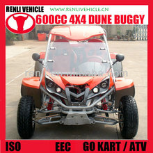 RENLI 600cc 4x4 china road street legal dune buggies