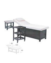 Cheap Portable Massage Table For Sale With Wooden Base For Sex Massage Furniture