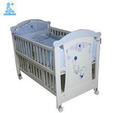 Customized New Style Standard Size Princess Designer Baby Cots