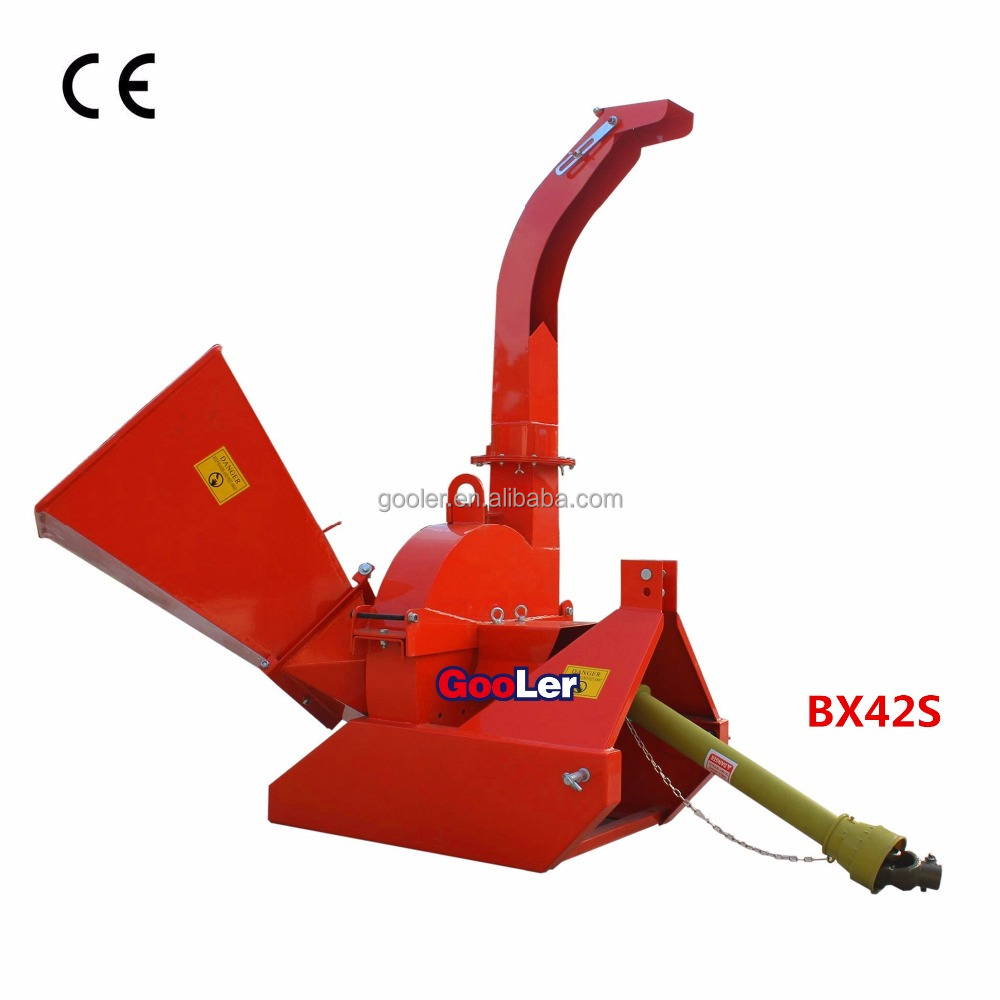 CE Approval Tractor Wood Chipper shredder BX42S