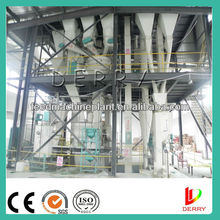 Ring die Animal feed mill plant / Poultry Feed Processing Line