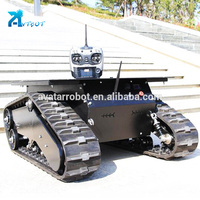 Professional 4wd smart car chassis