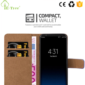 100 Pattern Magnet Leather Wallet Flip Cover Case For Samsung Galaxy S8