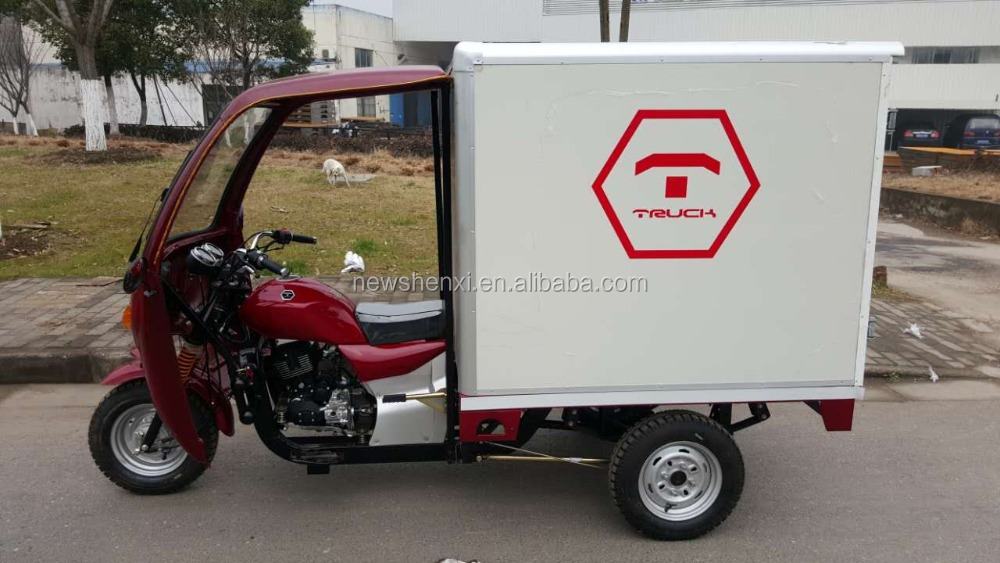 Big Power 250cc 3 Wheel Motorcycle With Closed Box On Sale