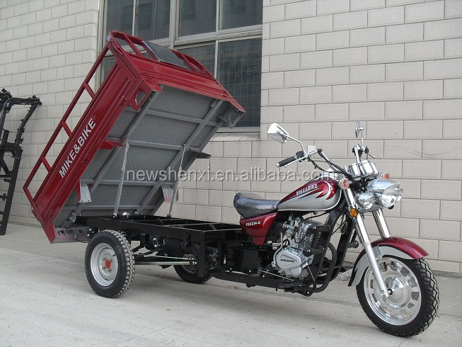 Drum Brake Cargo Motor Tricycle Motorcycle 150cc 200cc 250cc for sale