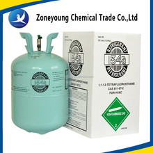 Green echo-friendly Refrigerant gas R134a for refrigerantion