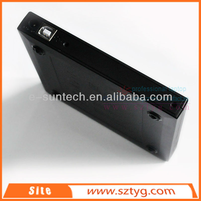 ECD002-DW China High Quality USB 2.0 Laptop Slim Portable External DVDRW /CD-RW Burner Drive/bluray writer