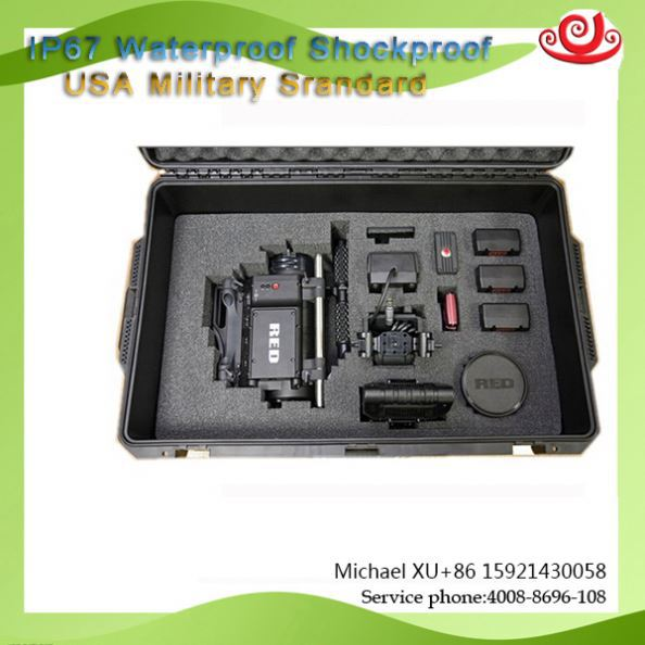 Hard ABS Plastic Waterproof customize color Equipment Case For Industry Tricases M2400 CE ISO9001 FDA SGS