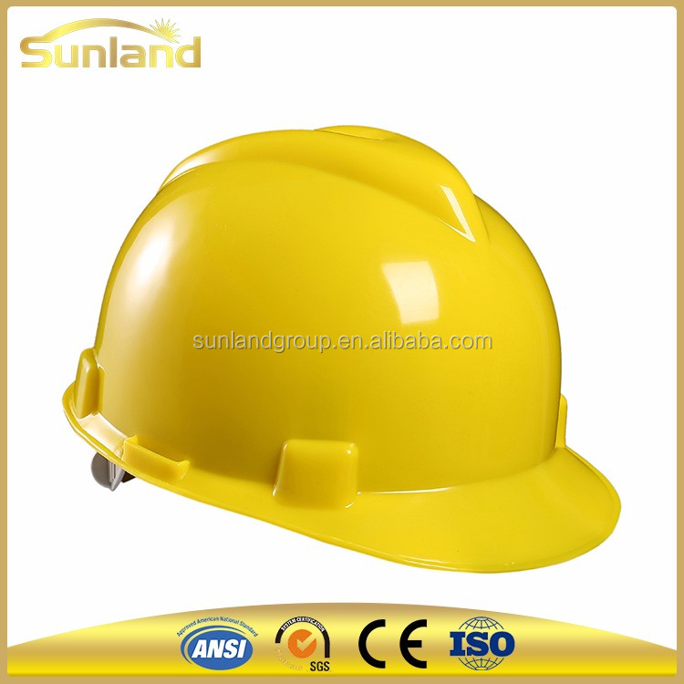 China factory HDPE fiberglass safety german helmets for sale