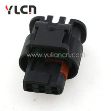 YLCN waterproof female electrical connector 3pin delphi pa66 connector with loose terminals