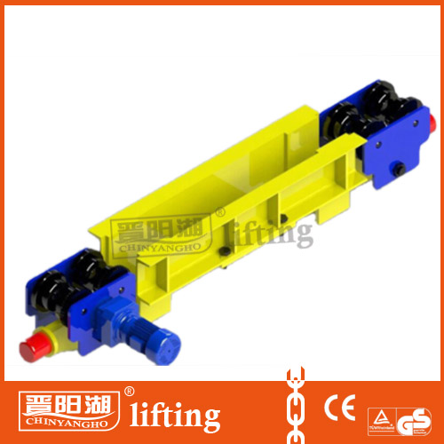 2t RS motor travelling i beam crane /end carriage