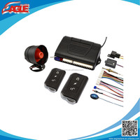 high quality one way car alarm system easy install for universal car