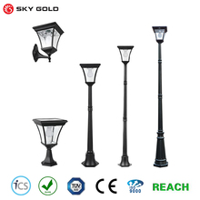 China outdoor standing solar auto lamps factory